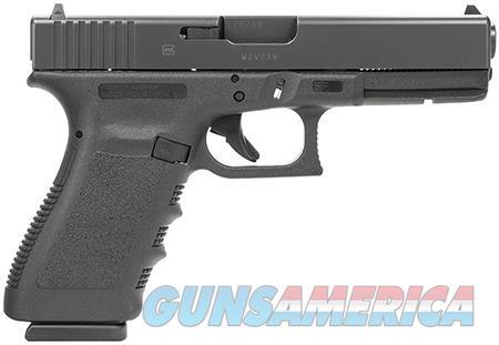 "Glock PF2050201 G20 Short Frame 10mm Auto Double 4.60"" 10+1 Black Polymer Grip/Frame Black Slide  Guns > Pistols > Glock Pistols > 20/21"