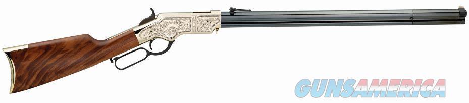 Henry Repeating Arms ORIG BTH DLX/ENGVD 44-40 OCTGN OCTAGON BARREL  Guns > Rifles > Henry Rifles - Replica