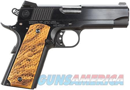 "American Classic ACC45B 1911 Commander 45 ACP Single 4.25"" 8+1 Hardwood w/MAC Logo Grip Blued Slide  Guns > Pistols > Desert Eagle/IMI Pistols > Other"