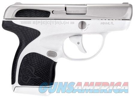 Taurus 1007039301 Spectrum  380 Automatic Colt Pistol (ACP) Double 2.80 6+1/7+1 White Polymer Frame  Guns > Pistols > TU Misc Pistols