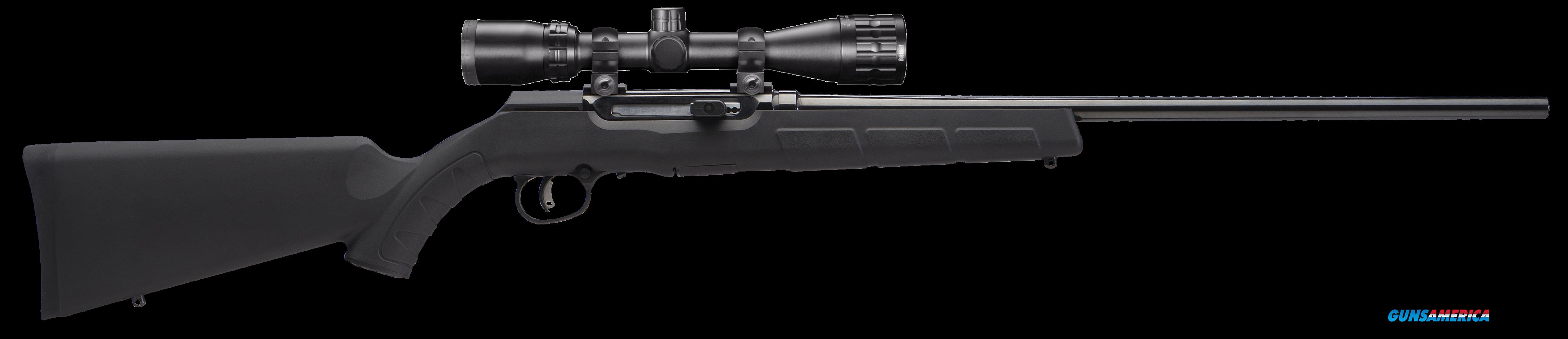"Savage 47011 A17 XP with Scope Semi-Automatic 17 HMR 22"" 10+1 Synthetic Black Stk Black  Guns > Rifles > S Misc Rifles"