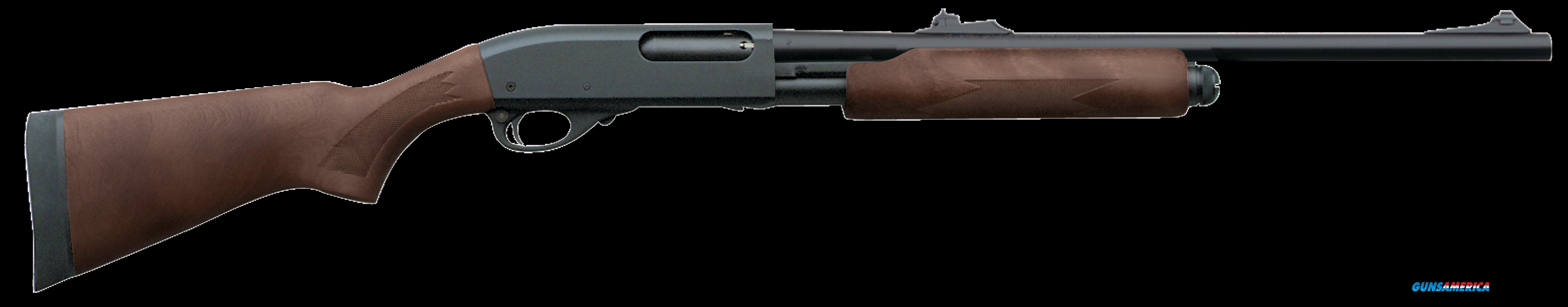 "Remington Firearms 25565 870 Pump 12 Gauge 20"" 3"" Walnut Stk Black Rcvr Plain Barrel Improved  Guns > Shotguns > R Misc Shotguns"