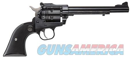 """Ruger 0622 Single-Six Convertible 22LR /22 WMR 6.50"""" 6 Round Blued Black Rubber Grip  Guns > Pistols > Ruger Single Action Revolvers > Single Six Type"""