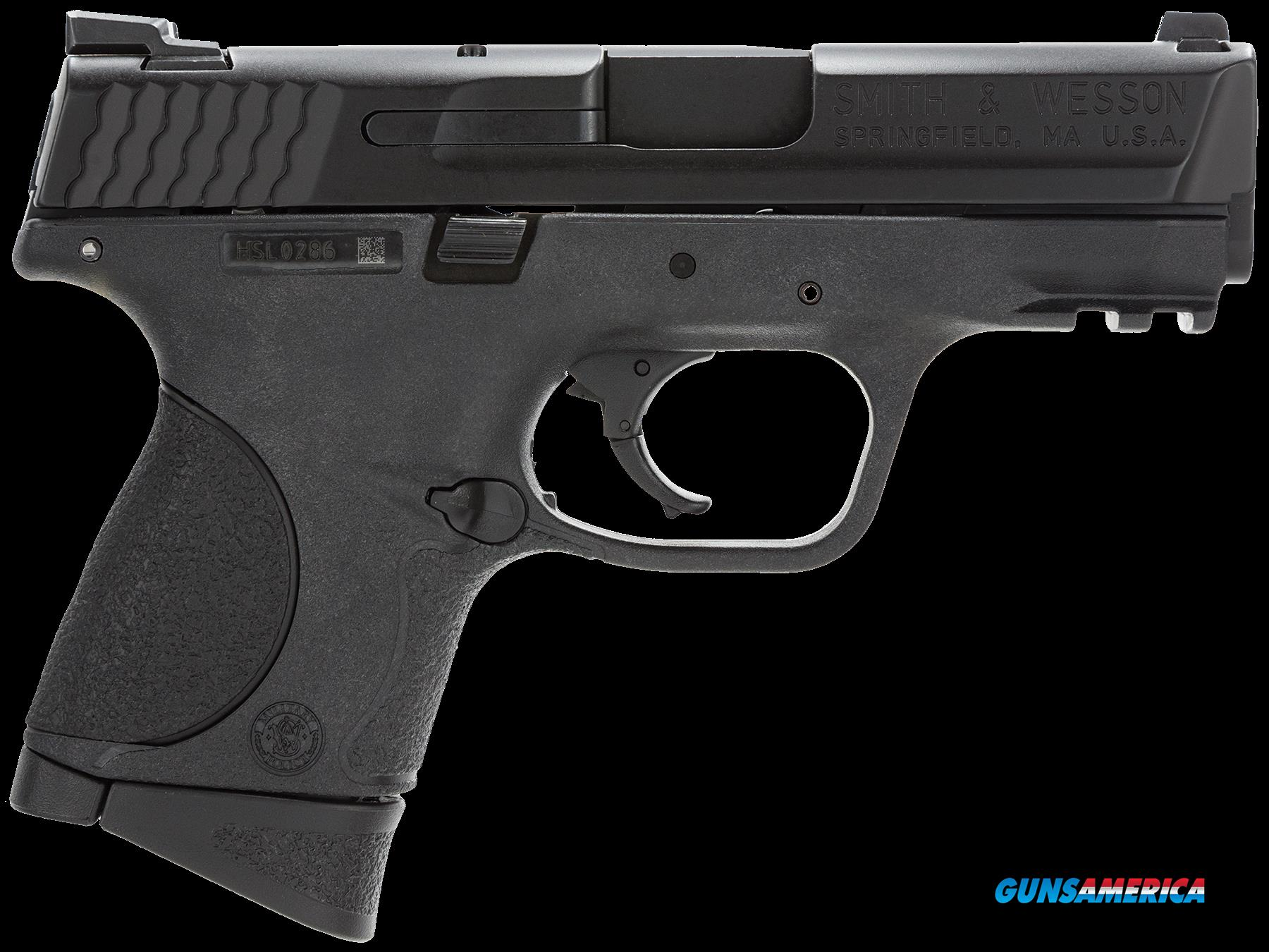 "Smith & Wesson 109203 M&P 40 Compact Double 40 Smith & Wesson (S&W) 3.5"" 10+1 Black Interchangeable  Guns > Pistols > S Misc Pistols"