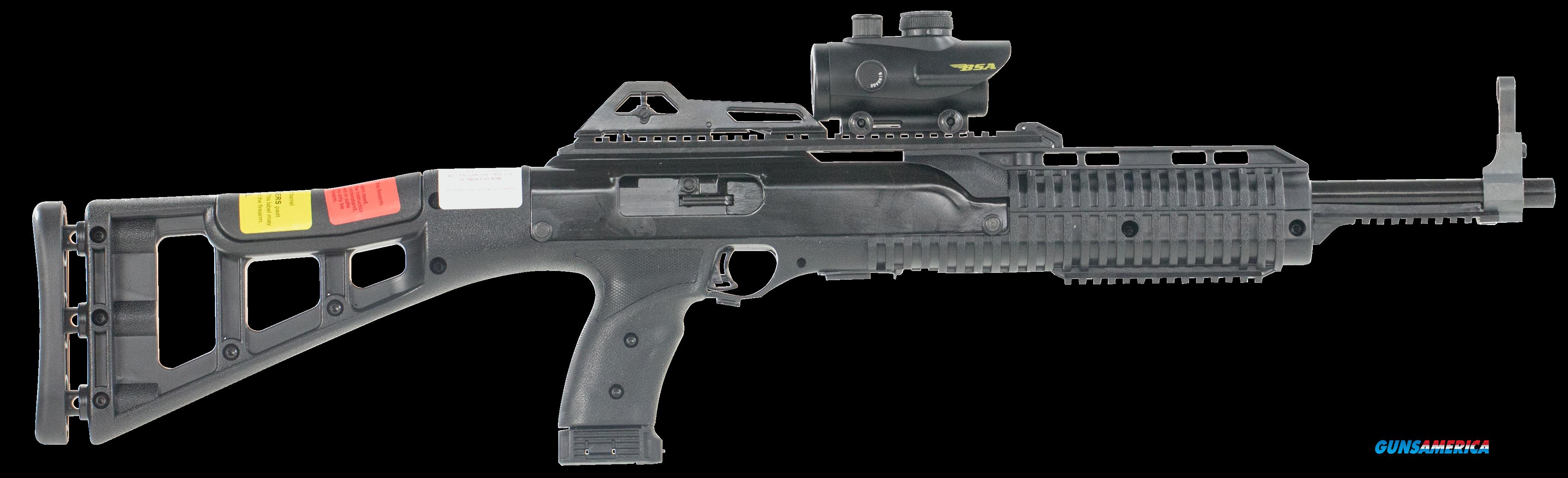 "Hi-Point 995RDTS 995TS Carbine Semi-Automatic 9mm Luger 16.5"" 10+1 Red Dot Polymer Skeleton Black  Guns > Rifles > Hi Point Rifles"
