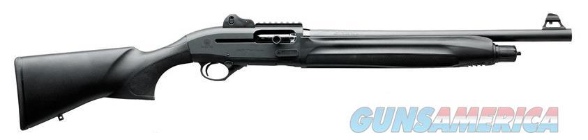 "Beretta USA J131T18C 1301 Tactical Semi-Automatic 12 Gauge 18.5"" 3"" Black Synthetic Stk Black  Guns > Shotguns > Beretta Shotguns > Autoloaders > Tactical"