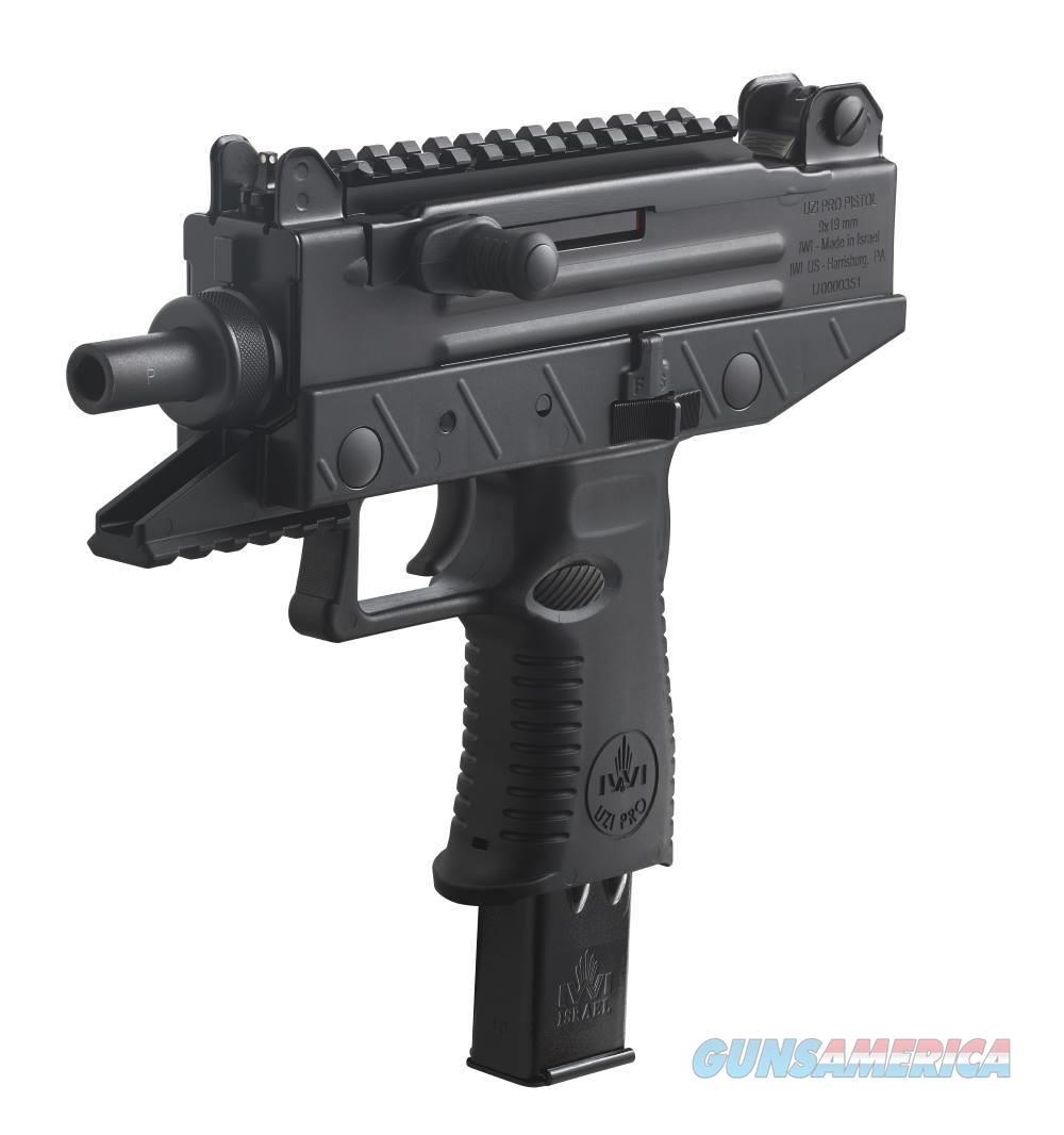 IWI - Israel Weapon Industries UZI PRO 9MM 25+1 PIC RAIL AS 120  125 RD MAG INCL  Guns > Pistols > IWI Pistols