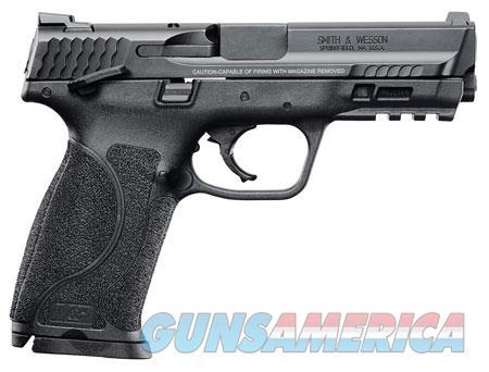 """Smith & Wesson 11524 M&P 9 M2.0  9mm Luger Double 4.25"""" 17+1 Black Interchangeable Backstrap Black  Guns > Pistols > S Misc Pistols"""