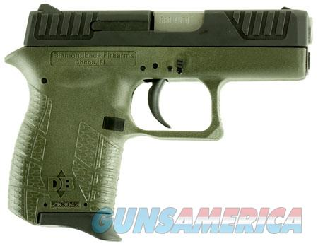 "Diamondback DB380ODG DB380 Micro-Compact 380 ACP 2.80"" 6+1 OD Green Black OD Green Polymer Grip  Guns > Rifles > Diamondback Rifles"