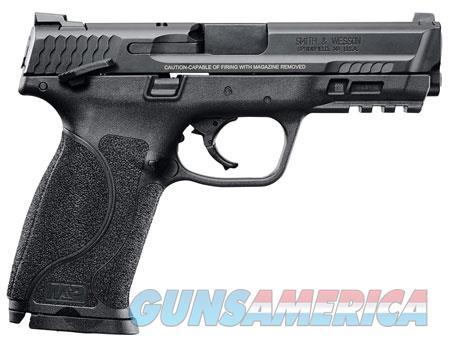 """Smith & Wesson 11525 M&P 40 M2.0 40 S&W Double 4.25"""" 15+1 Black Interchangeable Backstrap Grip Black  Guns > Pistols > S Misc Pistols"""