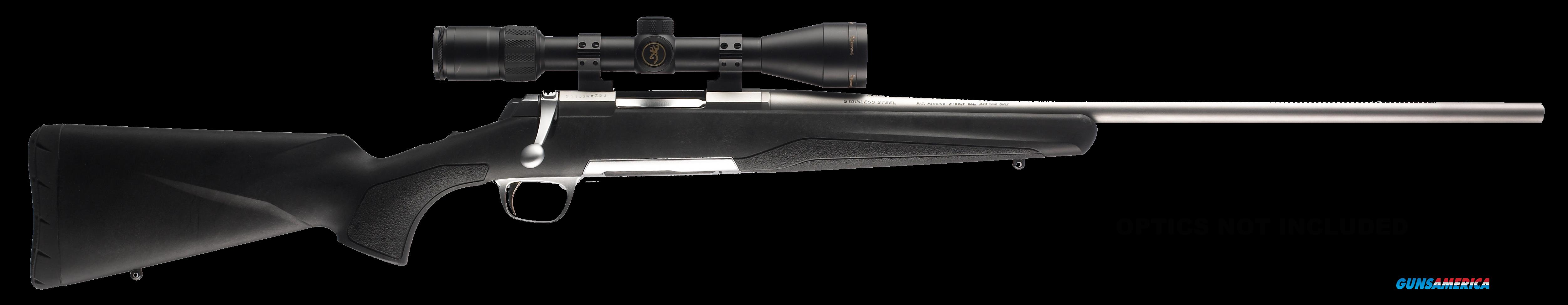 "Browning 035201282 X-Bolt Composite Stalker Bolt 6.5 Creedmoor 22"" 4+1 Synthetic Black Stock Blued  Guns > Rifles > B Misc Rifles"