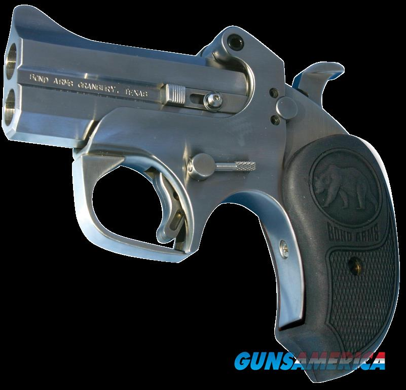 "Bond Arms CAPB CA Papa Bear *CA Compliant* Derringer Single 45 Colt (LC) 3"" 2 Round Stainless  Guns > Rifles > B Misc Rifles"