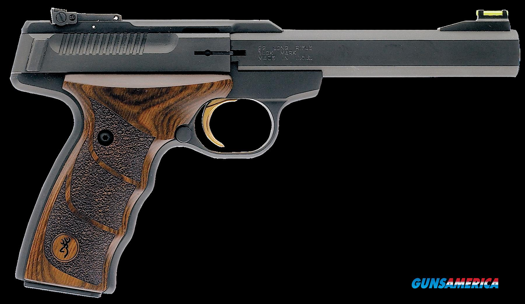 "Browning 051428490 Buck Mark Plus UDX *CA* 22LR 5.5"" 10+1 Syn Walnut Grip Blued  Guns > Pistols > Browning Pistols > Buckmark"