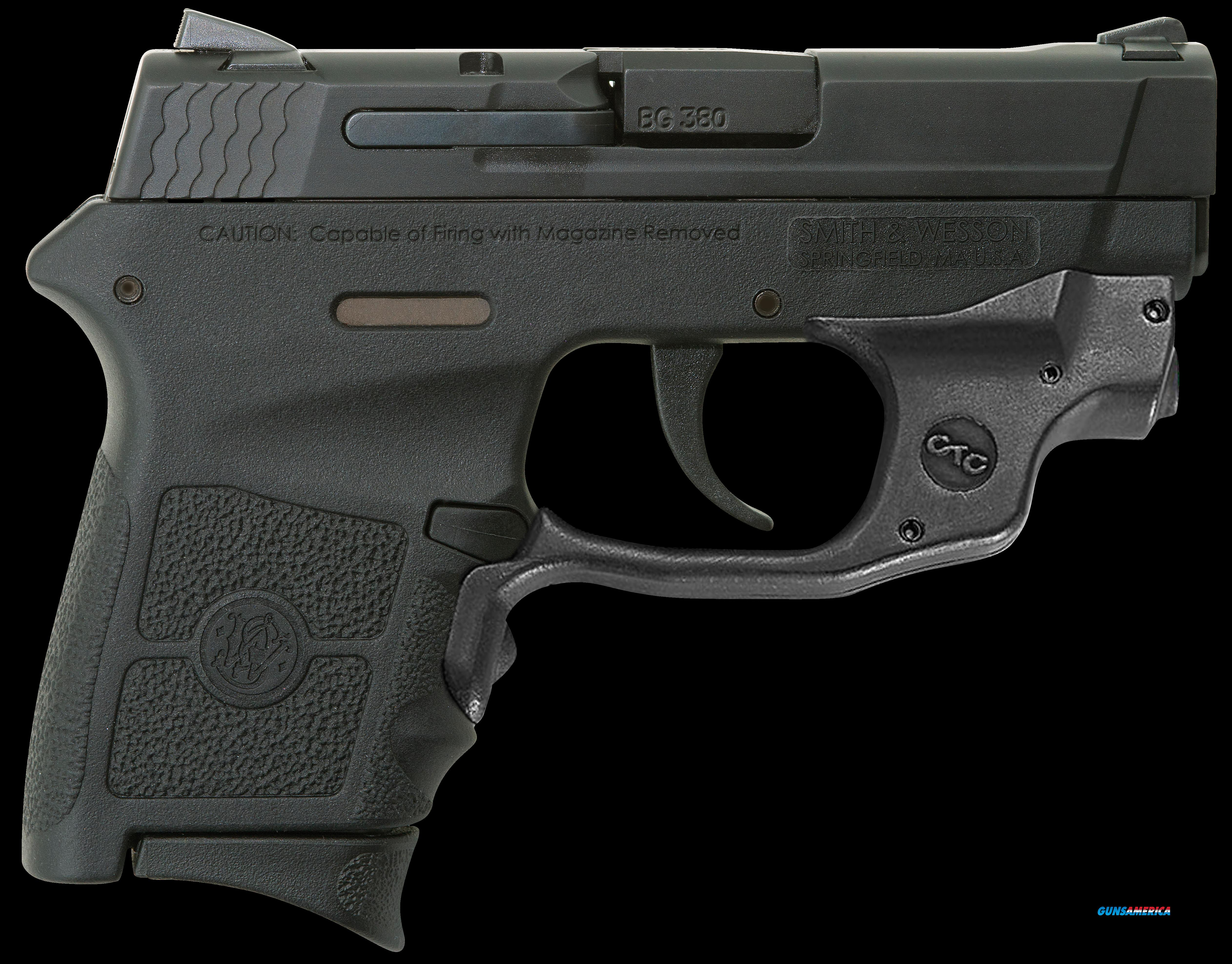 "Smith & Wesson 10178 M&P Bodyguard 380 with Crimson Trace Green Laserguard Double 380 ACP 2.75"" 6+1  Guns > Pistols > Smith & Wesson Pistols - Autos > Polymer Frame"
