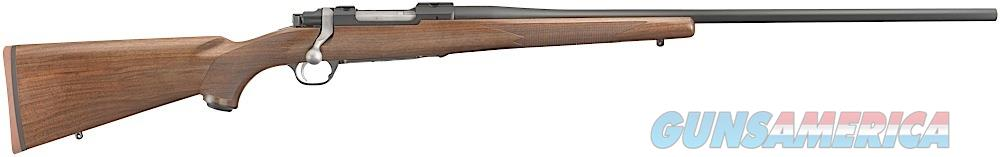 "Ruger 37116 Hawkeye Standard Bolt 204 Ruger 24"" 5+1 American Walnut Stk Blued  Guns > Rifles > R Misc Rifles"