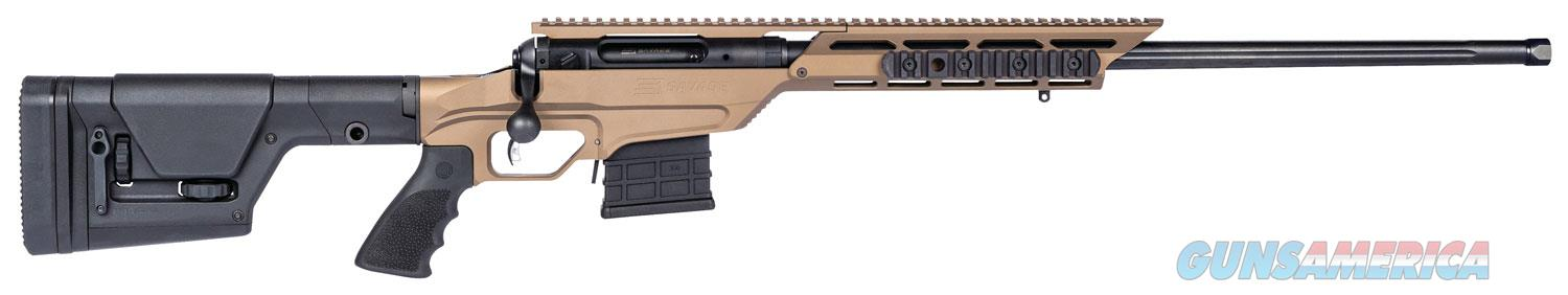 "Savage 22870 10/110BA Stealth Evolution LH Bolt 338 Lapua Magnum 24"" 5+1 Magpul PRS/Aluminum Chassis Black Stk Bronze Cerakote 011356228703  Guns > Rifles > Savage Rifles > 10/110"