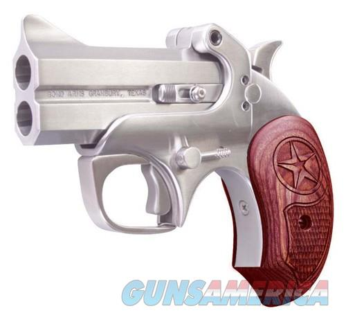 "BOND ARMS BOND ARMS TEXAS DEFENDER 10MM ACP 3"" FS STAINLESS WOOD BATD10MM  Guns > Pistols > Bond Derringers"