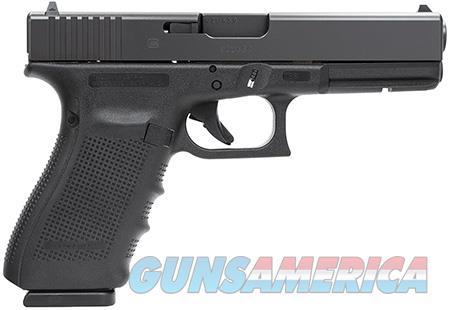 "Glock PG2050201 G20 Gen 4 10mm Auto Double 4.6"" 10+1 Black Interchangeable Backstrap Grip Black  Guns > Pistols > Glock Pistols > 20/21"