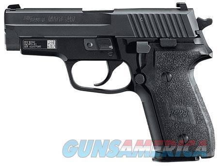 "Sig Sauer M11A110 P229  9mm Luger SA/DA 3.90"" 10+1 Black Polymer Grip & Nitron Stainless Steel Slide  Guns > Pistols > Sig - Sauer/Sigarms Pistols > P229"