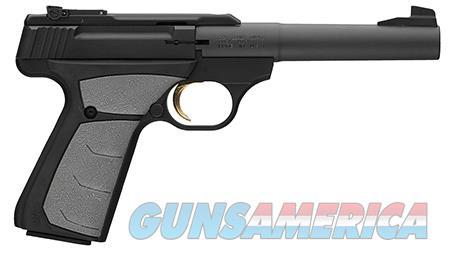 """Browning 051498490 Buck Mark Camper 22 LR 5.50"""" 10+1 Black Aluminum Alloy Gray Ultragrip FX  Guns > Pistols > Browning Pistols > Buckmark"""