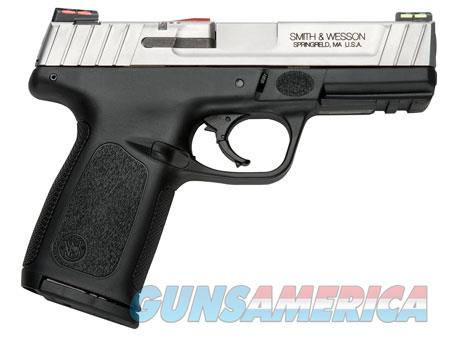 "Smith & Wesson 11907 SD VE *CA Compliant*  9mm Luger Single/Double 4"" 10+1 Black Polymer Grip/Frame  Guns > Pistols > S Misc Pistols"