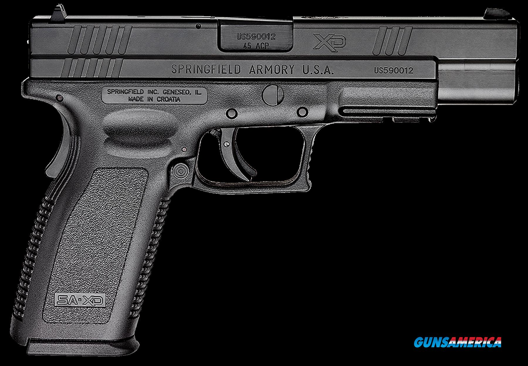 "Springfield Armory XD9621 XD Service *CA Compliant* Double 45 Automatic Colt Pistol (ACP) 5"" 10+1  Guns > Pistols > S Misc Pistols"