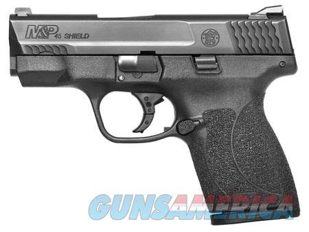 "Smith & Wesson 11726 M&P 45 Shield 45 ACP Double 3.3"" 6+1/7+1 Black Polymer Grip/Frame Black  Guns > Pistols > S Misc Pistols"