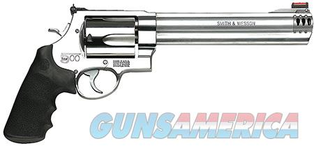 "Smith & Wesson 163501 500 Standard Stainless Single/Double 500 Smith & Wesson 8.4"" 5 Black Synthetic  Guns > Pistols > Smith & Wesson Revolvers > Full Frame Revolver"