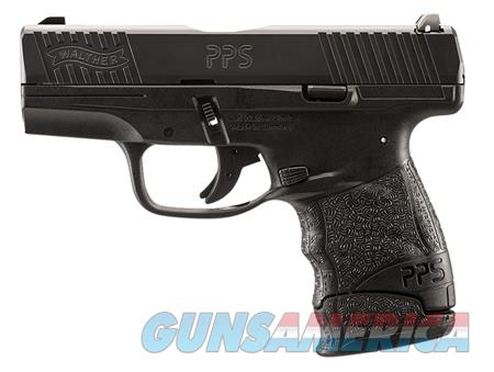 """Walther Arms 2807696 PPS M2 LE Edition  9mm Luger Single/Double 3.18"""" 7+1 Black Polymer Grip/Frame  Guns > Pistols > Walther Pistols > Post WWII > PPS"""