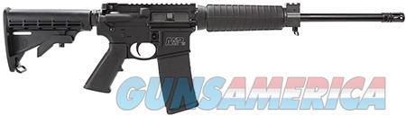 "Smith & Wesson 811302 M&P15  Semi-Automatic 300 AAC Blackout 16"" 30+1 Black 6-Position Adjustable  Guns > Rifles > Smith & Wesson Rifles > M&P"