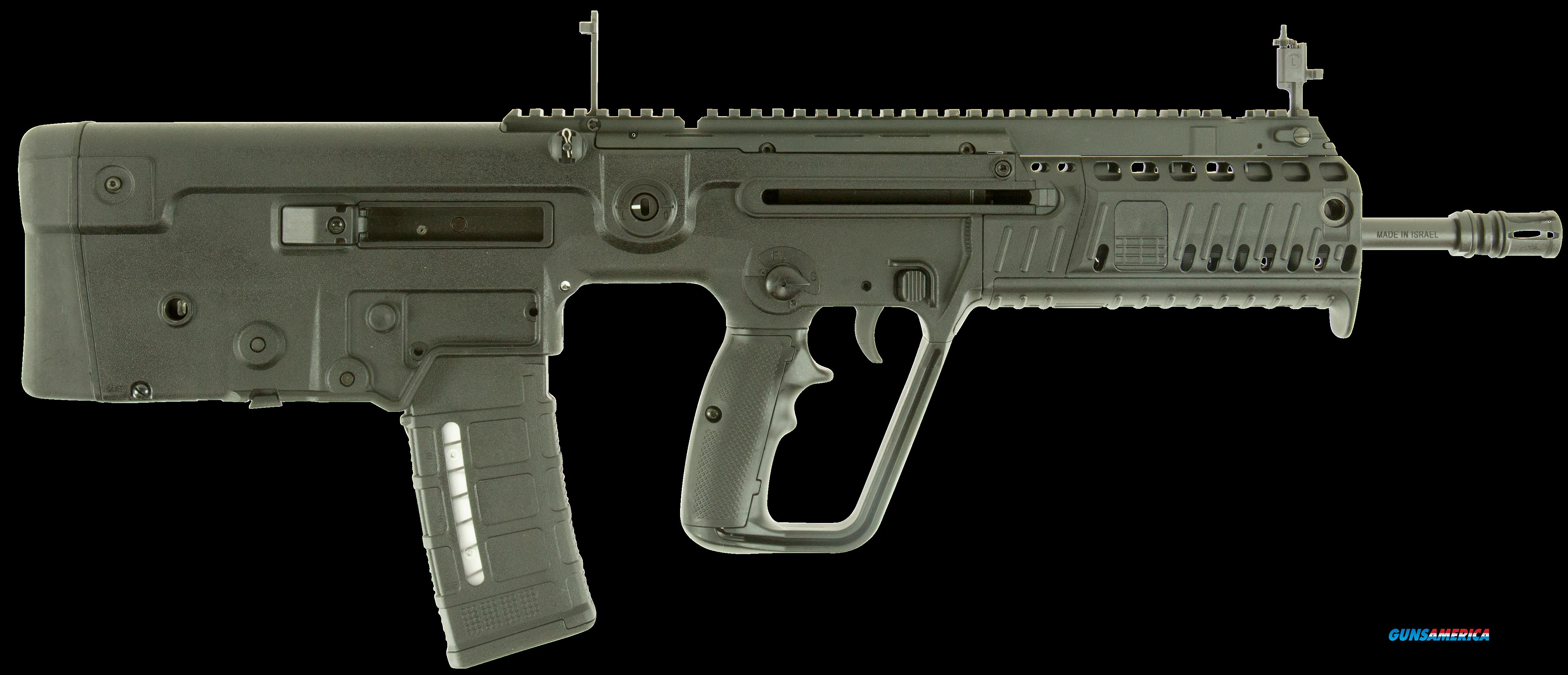 "IWI US X16BLK Tavor X95 Semi-Automatic 300 AAC Blackout/Whisper (7.62x35mm) 16.5"" 30+1 Polymer Black  Guns > Rifles > IWI"