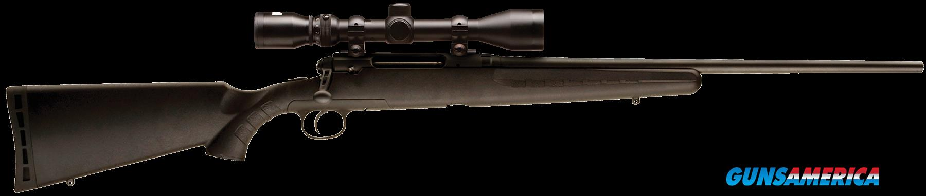 "Savage 19174 Axis XP with Scope Bolt 223 Rem 22"" 4+1 Synthetic Black Stk Stainless Steel  Guns > Rifles > S Misc Rifles"