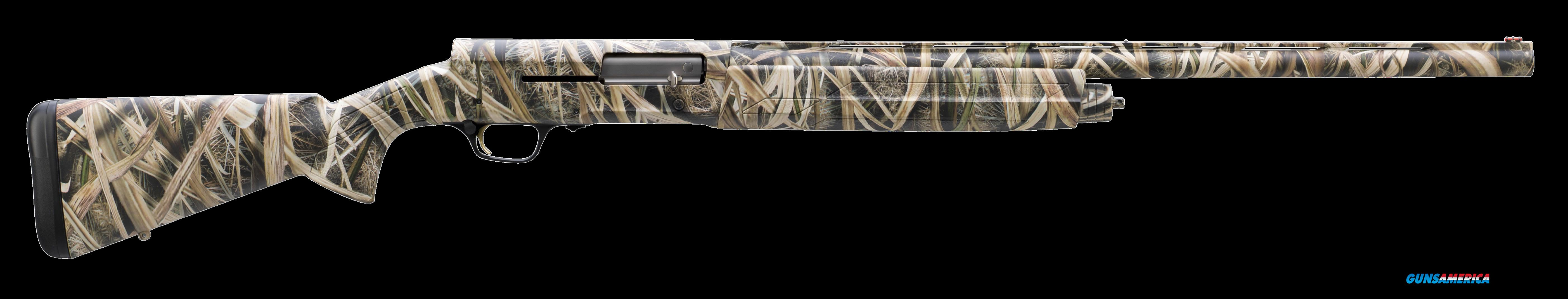 "Browning 0118183005 A5 Semi-Automatic 12 Gauge 26"" 3"" Mossy Oak Shadow Grass Blades Synthetic Stk  Guns > Shotguns > B Misc Shotguns"