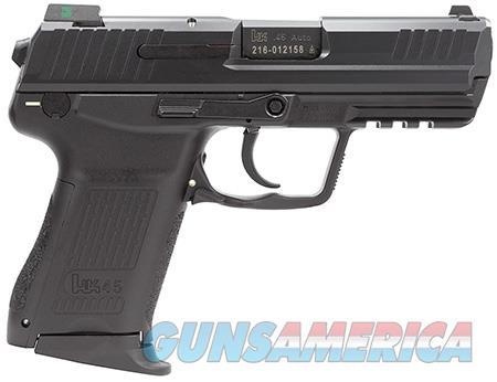 """HK 745037LEA5 HK45C Compact V7 LEM 45 ACP Double 3.94"""" 8+1 Black Interchangeable Backstrap Grip  Guns > Pistols > H Misc Pistols"""