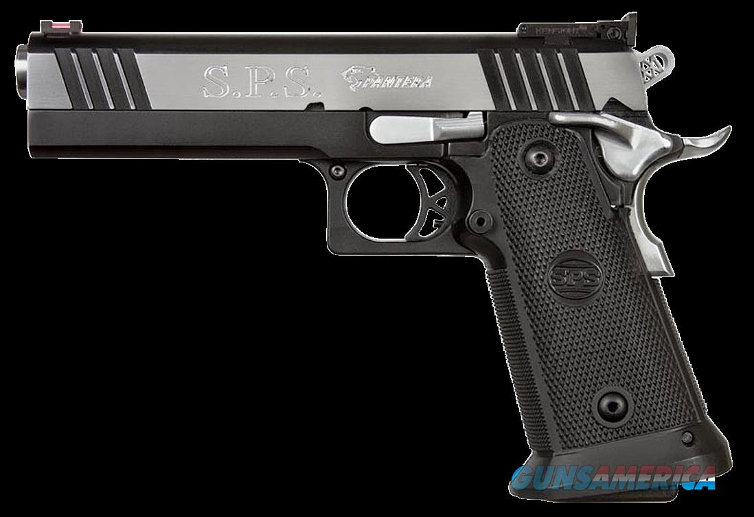 "SPS SPP9BC Pantera SAO 9mm 5"" 21+1 Black Poly Grip Blk Frame Blk/Chrome Slide  Guns > Pistols > Bersa Pistols"
