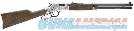 "Henry H006CSD Big Boy Silver Deluxe Engraved  Lever 45 Colt (LC) 20"" 10 American Walnut Stk Silver  Guns > Rifles > Henry Rifles - Replica"