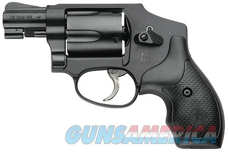 "Smith & Wesson 162810 442 Airweight Double 38 Special 1.875"" 5 rd Black Synthetic Grip Black  Guns > Pistols > Smith & Wesson Revolvers > Pocket Pistols"
