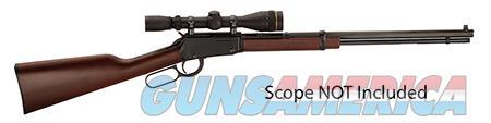 "Henry H001TV Frontier  Lever 17 HMR 20"" 11+1 American Walnut Stk Blued  Guns > Rifles > H Misc Rifles"