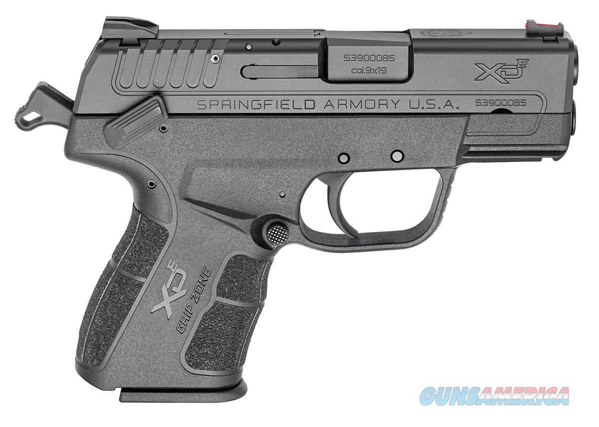 Springfield Armory XD-E 9MM BLK 3.3 9+1 EDC PKG EVERY DAY CARRY PACKAGE  Guns > Pistols > S Misc Pistols