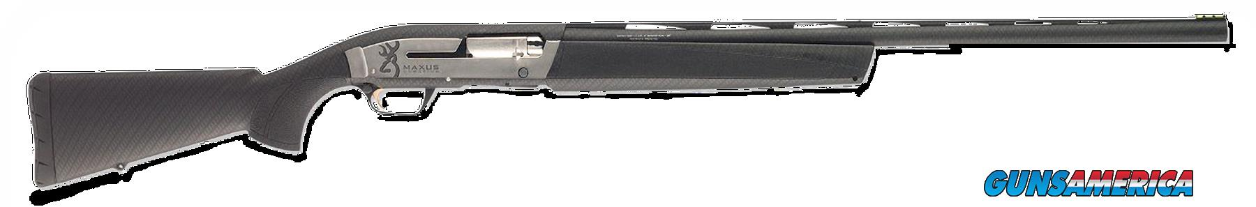 "Browning 011609303 Maxus Sporting Semi-Automatic 12 Gauge 30"" 3"" Carbon Fiber Synthetic Stk Aluminum  Guns > Shotguns > Browning Shotguns > Autoloaders > Hunting"
