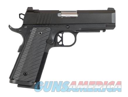 "Dan Wesson 01846 TCP   45 ACP Single 4"" 8+1 Black G10 Grip Black Aluminum Alloy Frame Black  Guns > Pistols > C Misc Pistols"