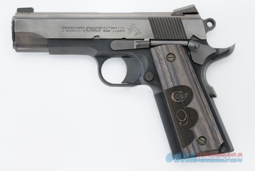 Colt WILEY CLAPP COMMANDER 9MM BL   Guns > Pistols > C Misc Pistols