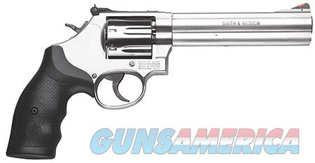 "Smith & Wesson 164198 686 Plus Single/Double 357 Magnum 6"" 7 rd Black Synthetic Grip Stainless Steel  Guns > Pistols > Smith & Wesson Revolvers > Full Frame Revolver"