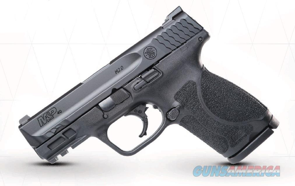 "Smith & Wesson 11691 M&P 40 M2.0 Compact Double 40 Smith & Wesson (S&W) 3.6"" 13+1 NTS Black  Guns > Pistols > S Misc Pistols"