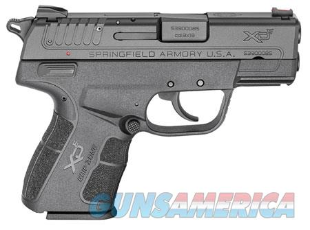 """Springfield Armory XDE9339BE XD-E   9mm Luger Single/Double 3.3"""" 8+1/9+1 Black Polymer Grip/Frame  Guns > Pistols > S Misc Pistols"""