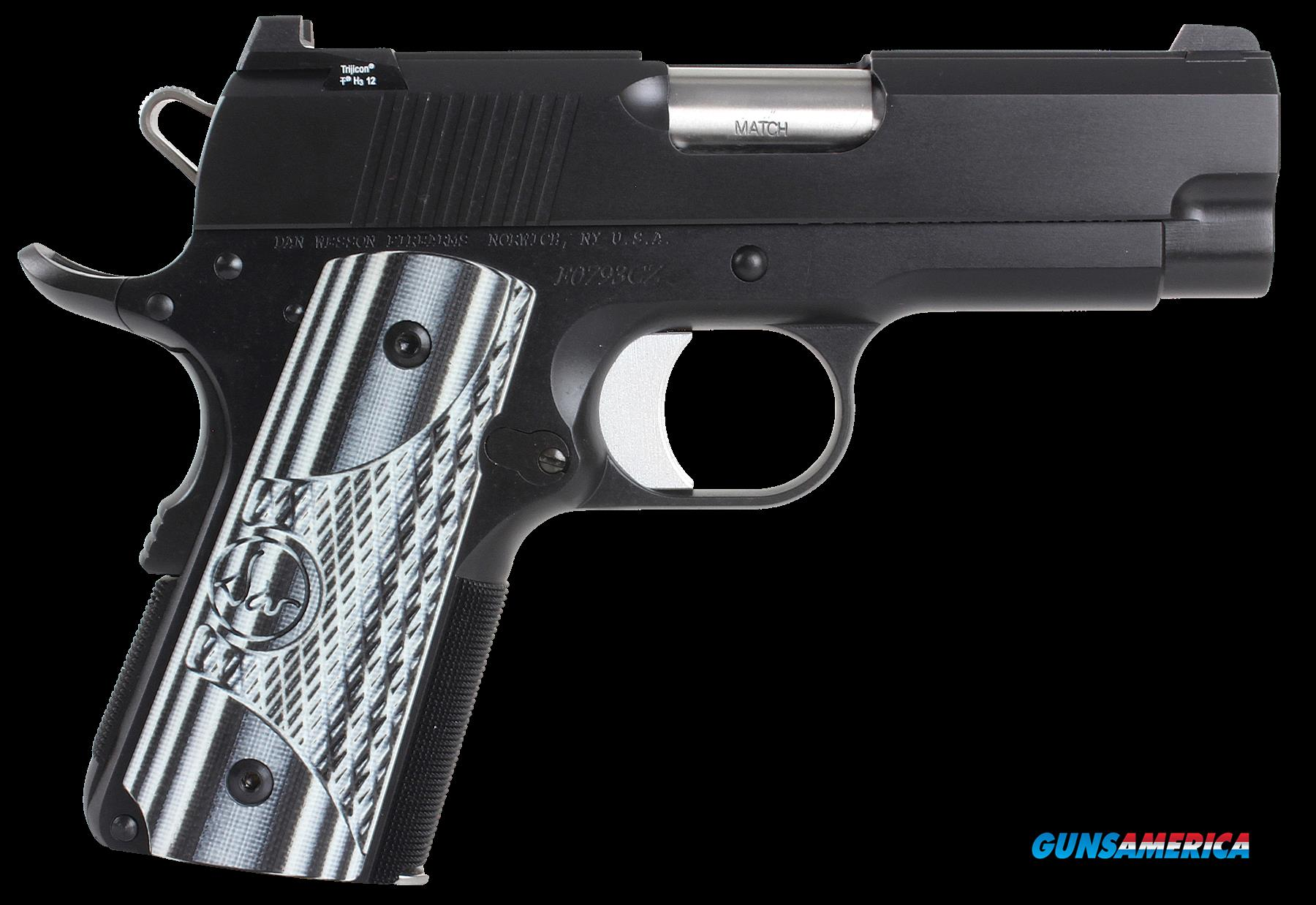"Dan Wesson 01969 DW ECO 45 ACP 3.5"" 7+1 Black/Gray G10 Grip Black  Guns > Pistols > D Misc Pistols"