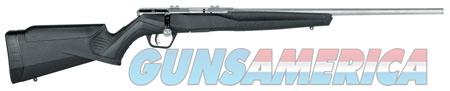 "Savage 70202 B22 FVSS Bolt 22 LR 21"" 10+1 Black Fixed Synthetic Stock Stainless Steel Receiver  Guns > Rifles > S Misc Rifles"