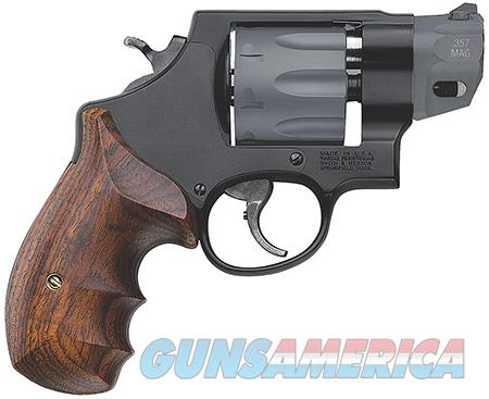 "Smith & Wesson 170245 327 Performance Center Single/Double 357 Magnum 2"" 8 Wood Black  Guns > Pistols > Smith & Wesson Revolvers > Full Frame Revolver"