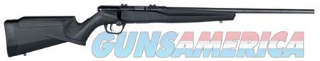 "Savage 70801 B17 FV Bolt 17 HMR 21"" 10+1 Black Fixed Synthetic Stock Blued Carbon Steel Receiver  Guns > Rifles > S Misc Rifles"