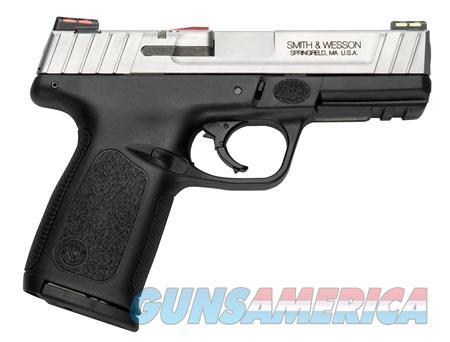 "Smith & Wesson 11908 SD VE *CA Compliant* 40 S&W Single/Double 4"" 10+1 Black Polymer Grip/Frame  Guns > Pistols > S Misc Pistols"